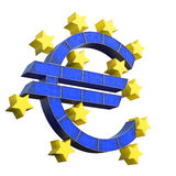 European Central Bank Symbol Stock Images