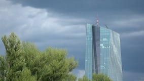 European Central Bank Tower Frankfurt Germany