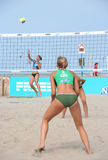 European Championship Beach Volleyball Royalty Free Stock Photos