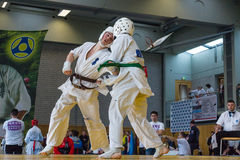 European championship Kyokushin World Union KWU for Children and Youth 2017 Stock Photography
