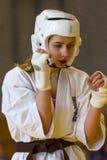 European championship Kyokushin World Union KWU for Children and Youth 2017 Stock Images