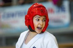 European championship Kyokushin World Union KWU for Children and Youth 2017 Royalty Free Stock Photography