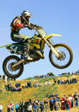European Championship motocross in Yakhroma Stock Photography