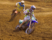 European Championship motocross in Yakhroma Royalty Free Stock Images