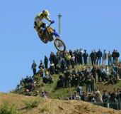 European Championship motocross in Yakhroma Stock Photography