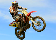 European Championship motocross in Yakhroma Royalty Free Stock Photos