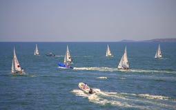 European Championship Sailing,Burgas Stock Images