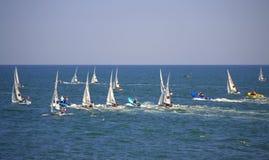 European Championship Sailing,Burgas Royalty Free Stock Photography