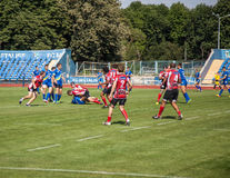 European Championship Ukraine - Norway, rugby Stock Images
