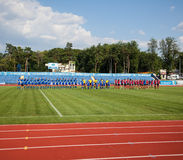European Championship Ukraine - Norway, rugby Royalty Free Stock Photos