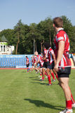 European Championship Ukraine - Norway, rugby Royalty Free Stock Image