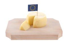 European cheese Stock Photo