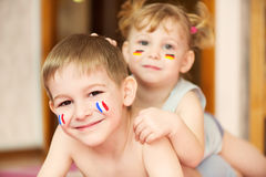 European children Stock Photo