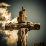 European Christian burial stock photography