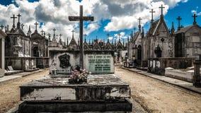 European Christian burial stock image