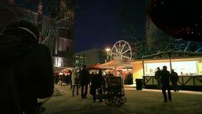 European Christmas, Berlin stock video