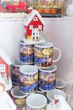 European Christmas market stall Stock Images