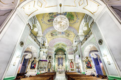 European church interior Stock Images
