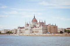 European cities, Budapest. Hungarian Parliament Building in Budapest, may stock photo