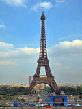European cities - Paris city - Eiffel tower Stock Photography