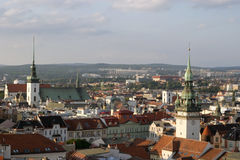 European city Brno Royalty Free Stock Photo