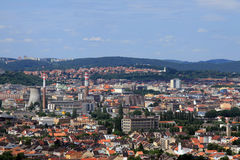 EUROPEAN CITY BRNO. Brno, second biggest city in Czech Republic, Europe Royalty Free Stock Image