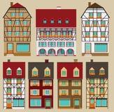 European city houses Stock Image