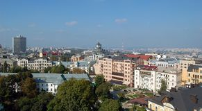 European city Kiev royalty free stock images