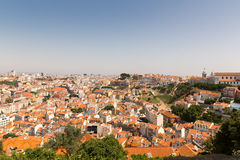 European city roofs Royalty Free Stock Photos