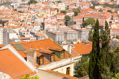 European city roofs Stock Images