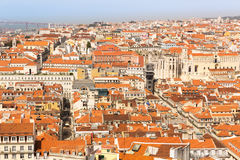European city roofs Stock Photography