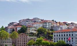 European coast of the Bosphorus Royalty Free Stock Photos