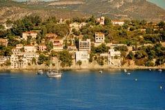 European coastal village Royalty Free Stock Images