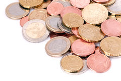 European coins Stock Photo