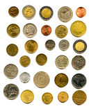 European coins Royalty Free Stock Image