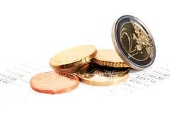 European Coins Set Stock Images