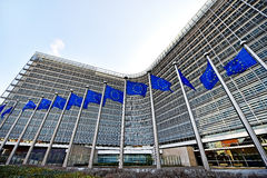 European Comission Headquarters Stock Image