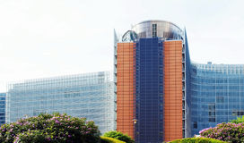 European Commission in Brussels Stock Image