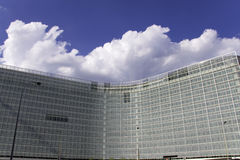 European Commission building Stock Image