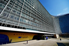 European Commission Headquarters Royalty Free Stock Images