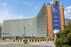 European Commission main building Stock Photos