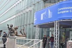 European Commission Office Building, Belgium, Dec. 2013 Stock Photo
