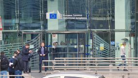 European commission with people