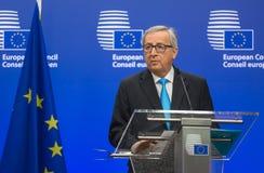 European Commission President Jean-Claude Juncker Stock Images