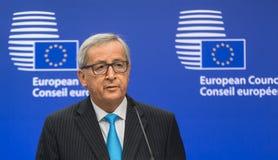 European Commission President Jean-Claude Juncker Stock Photography