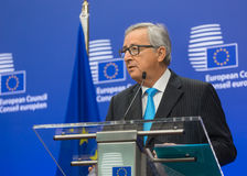 European Commission President Jean-Claude Juncker Royalty Free Stock Images