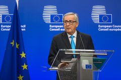 European Commission President Jean-Claude Juncker Stock Image