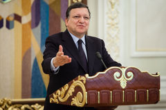 European Commission President Jose Manuel Barroso Stock Images
