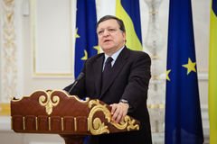 European Commission President Jose Manuel Barroso Royalty Free Stock Image