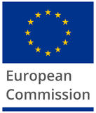 European Commission. Standard proportional sign - flat design on white background Stock Photography